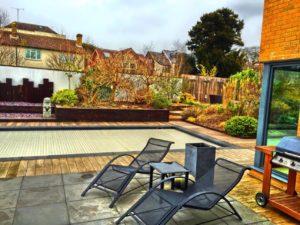 mobilier lumineux jardin